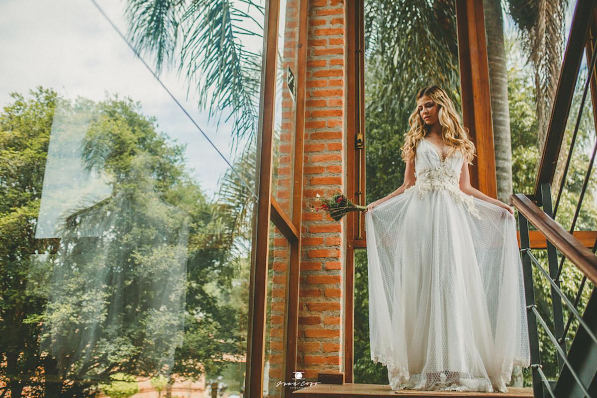 Vestido Zuzu Angel