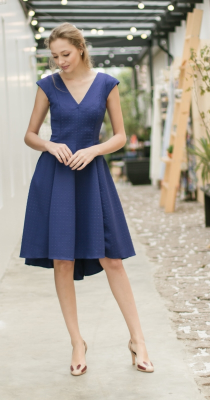 Vestido Lela Azul