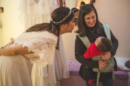 Noiva e mamãe ♥
