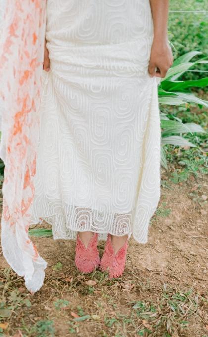 vestido noiva banho de folhas 2