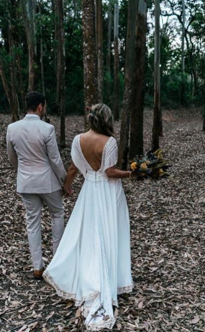 vestido noiva matricaria liso 10