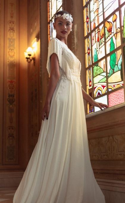 vestido noiva matricaria liso 3