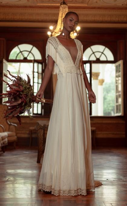 vestido noiva matricaria liso 4