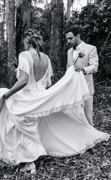vestido noiva matricaria liso 8