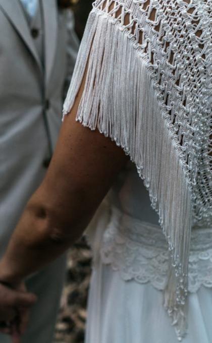 vestido noiva matricaria liso 9
